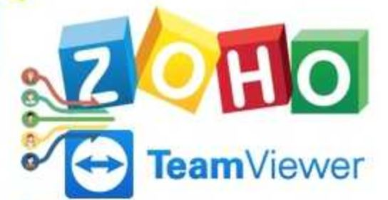 TeamViewer + Zoho