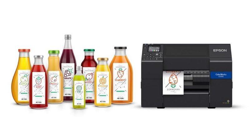 epson impresora etiquetas