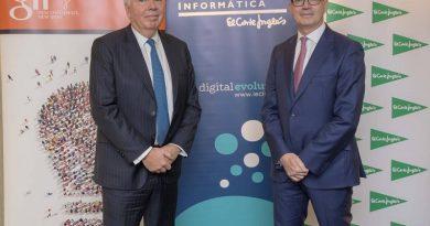 Vincent Rouaix (presidente de GFI) y Jesús Nuño de la Rosa (consejero delegado de El Corte Inglés).
