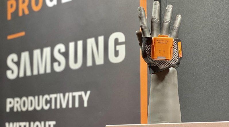 ProGlove colabora con Samsung para suplir la demanda de escáneres portátiles