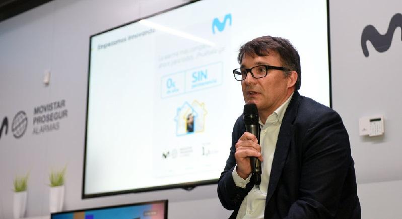 Enrique García López, CEO de Movistar Prosegur Alarmas,