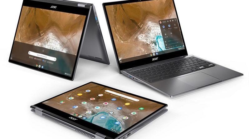 Tres nuevos Chromebook Spin de Acer para todos los públicos