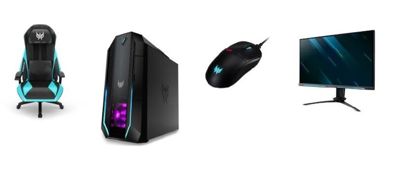 Acer sigue ampliando su portfolio de productos gaming Predator y sus accesorios