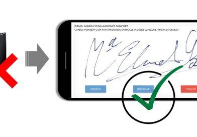 La compañía iformalia lleva la firma digital biométrica a los cursos de formación profesional