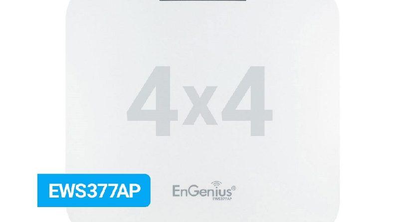 EnGenius lanza en España un Punto de Acceso WiFi6