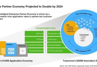 Los partners de SAP podrían duplicar sus ingresos en 2024 según un estudio de IDC