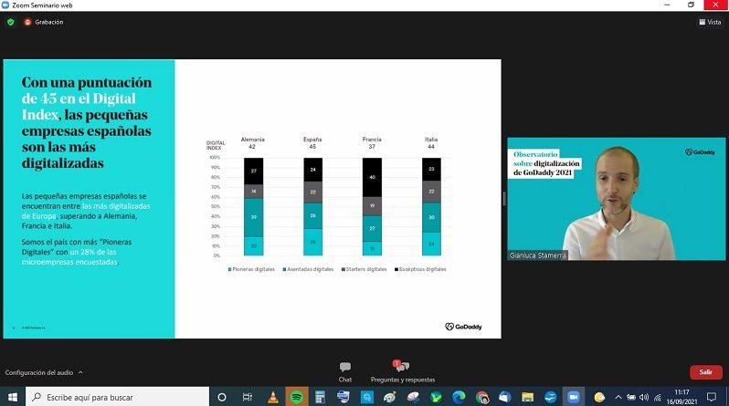 El 58% de los pequeños negocios españoles ya utilizan servicios en la nube para transferencia y almacenamiento de datos